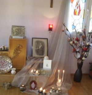 Prayer room in Romania